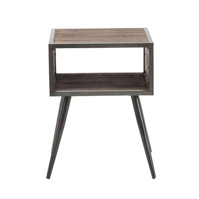 Claireville End Table with Storage