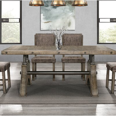 Stickley Work Bench Style Dining Table Color: Brown