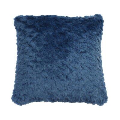 Henton Faux Fur Throw Pillow Color: Stellar