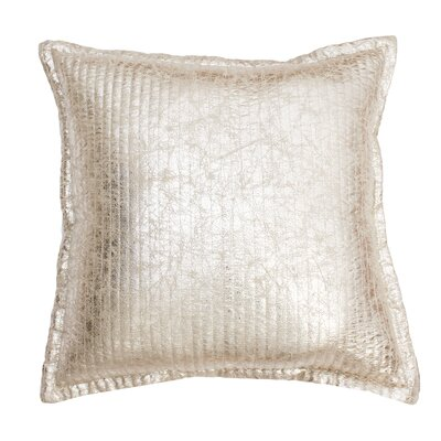Millender Crackle Throw Pillow Color: Gold Crackle