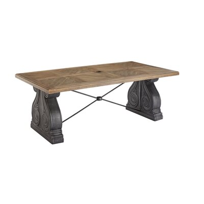 Astrid Outdoor Rectangle Dining Table