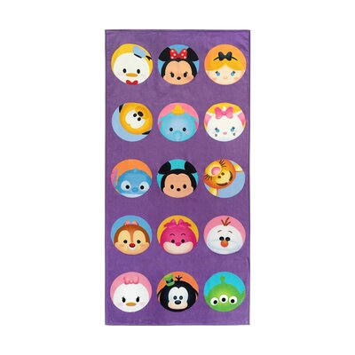 Disney Tsum Dots Cotton Beach Towel