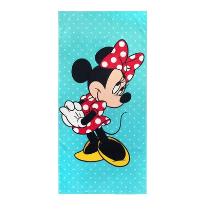 Disney Minnie Mouse Vibes Cotton Beach Towel