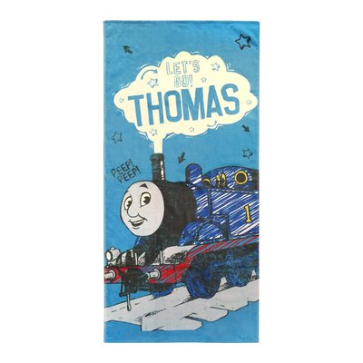Thomas the Tank Engine Lets Go Cotton Beach Towel