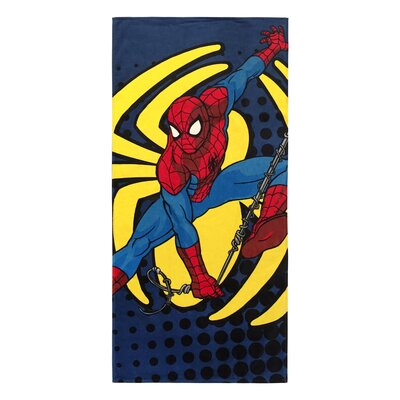 Marvel Spiderman Cotton Beach Towel