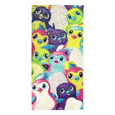 Hatchimals Hatchy Party Cotton Beach Towel