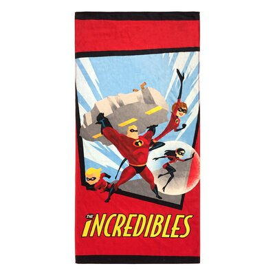 Disney/Pixar the Incredibles Family Cotton Beach Towel