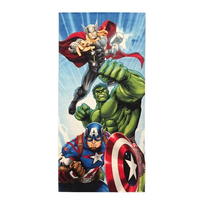 Marvel Avengers Battle Ready Cotton Beach Towel