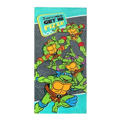 Nickelodeon Teenage Mutant Ninja Turtles Cotton Beach Towel JF62471