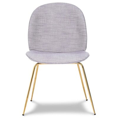 Amalfi Upholstered Dining Chair Upholstery Color: Gray