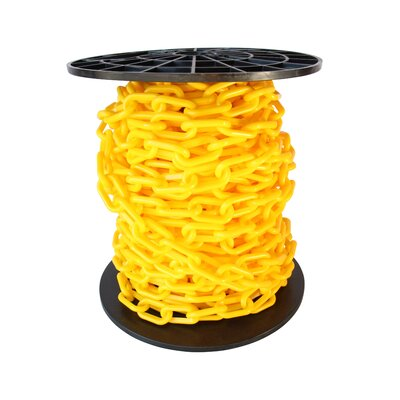 Decorative Lightweight Chain Finish: Yellow, Size: 8.25 H x 8.25 W x 7.75 D