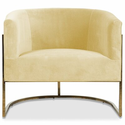 Lisbon Barrel Chair Upholstery: Hollandaise