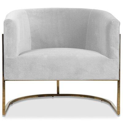 Lisbon Barrel Chair Upholstery: Sharkskin