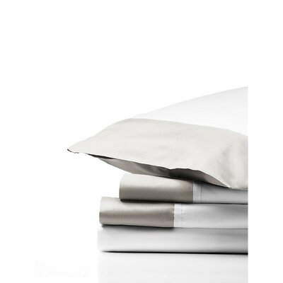 Grace Sheet Set Size: Full, Color: Platinum