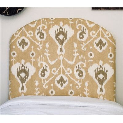 Heathcote Arched Twin/Twin XL Upholstered Panel Headboard Upholstery: Barley