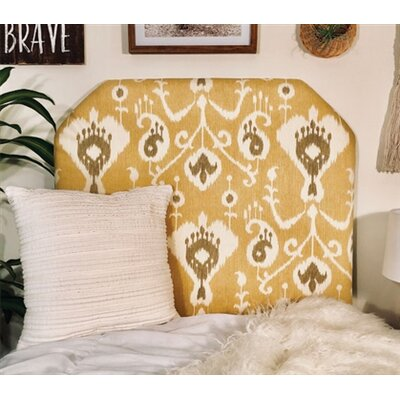 Cornwall Beveled Twin/Twin XL Upholstered Panel Headboard Upholstery: Barley