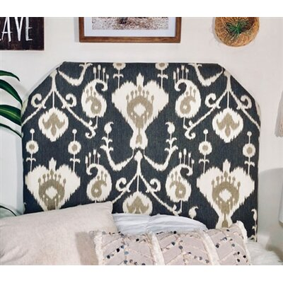 Cornwall Beveled Twin/Twin XL Upholstered Panel Headboard Upholstery: Pewter