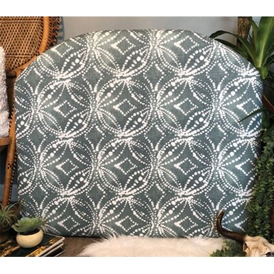 Hornyak Arched Twin/Twin XL Upholstered Panel Headboard Upholstery: Waterbury