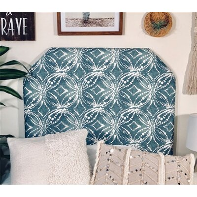 Horrell Beveled Twin/Twin XL Upholstered Panel Headboard Upholstery: Waterbury