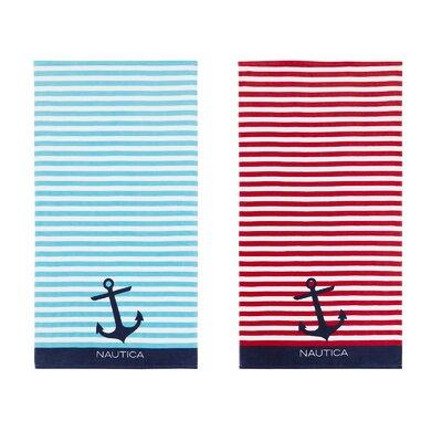 Bayside 2 Piece Beach Towel Set