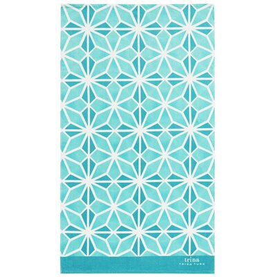 Mojave Beach Towel Color: Aqua