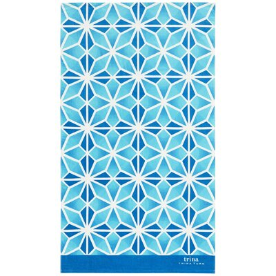 Mojave Beach Towel Color: Blue