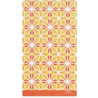 Mojave Beach Towel Color: Orange