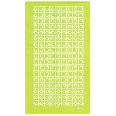 Palm Spring Block Beach Towel