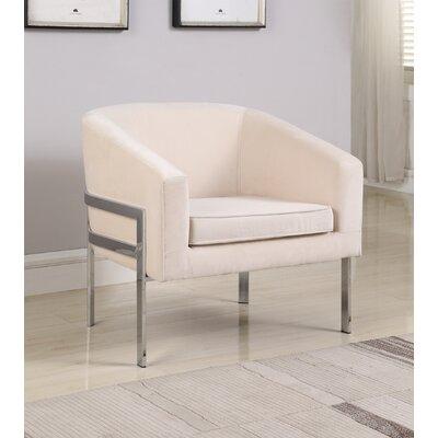 Winsor Barrel Chair Upholstery: Milk Ivory
