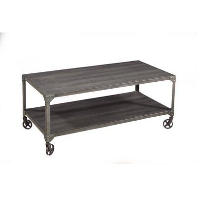 Hedden Loft Coffee Table Color: Charred Oak