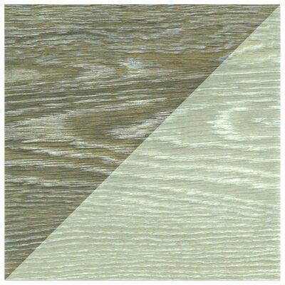 Bon Melange 6.5 x 6.5 Porcelain Field Tile in Greige