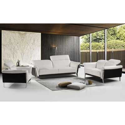Stockard 3 Piece Living Room Set