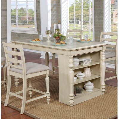 Ashcraft 5 Piece Pub Table Set