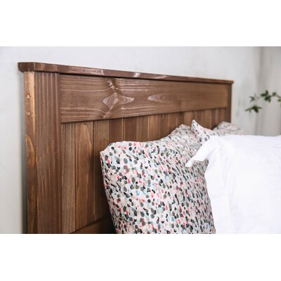 Swarey Panel Headboard Size: King
