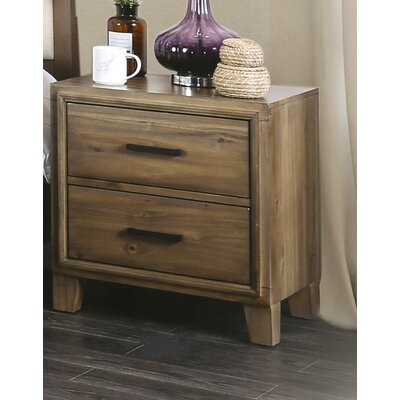 Clifton 2 Drawer Nightstand