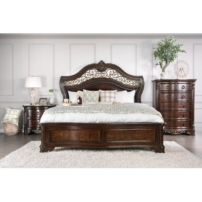 Caulfield Transitional Panel Bed