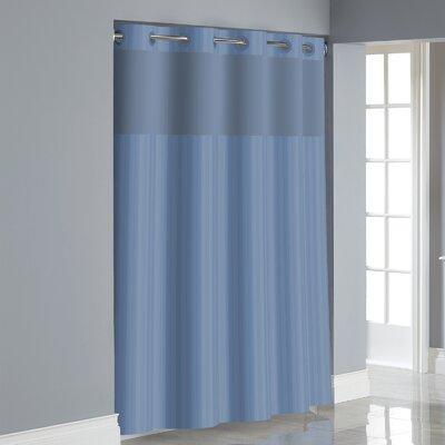 Beale Shower Curtain Color: Blue