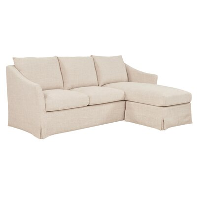 Tomlin Sectional Upholstery: Flax