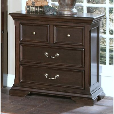 Rhinecliff 4 Drawer Nightstand