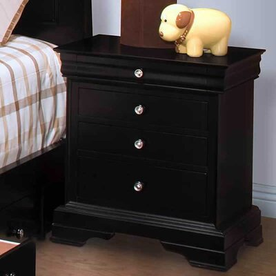Wiedemann 3 Drawer Nightstand