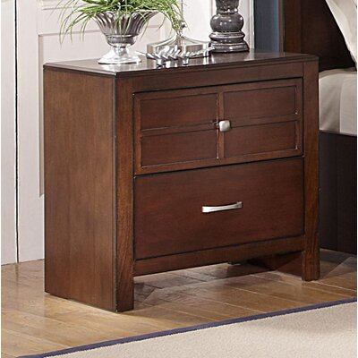 Winne 2 Drawer Nightstand