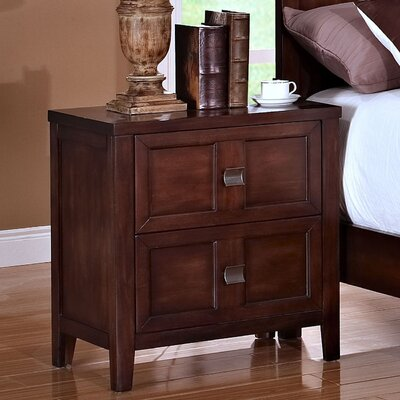 Westerman 2 Drawer Nightstand
