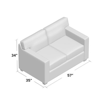 Gillis Loveseat Upholstery: Bayou Spray