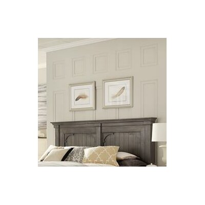 Allred Panel Headboard Size: King/Cailifornia King, Color: Charcoal