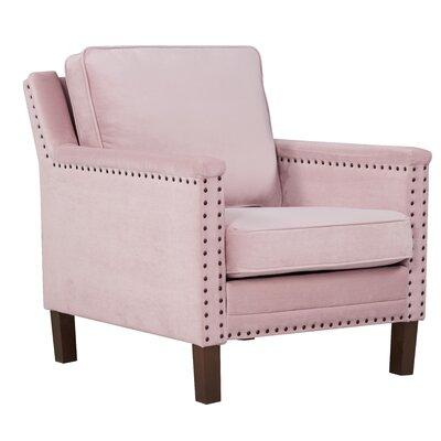 Milstead Armchair Upholstery: Blush