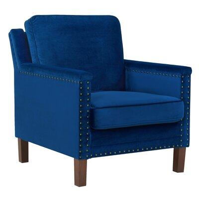 Milstead Armchair Upholstery: Sapphire