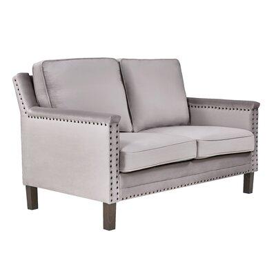 Milstead Loveseat Upholstery: Dove
