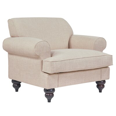 Charlton Home Armchair Upholstery: Flax