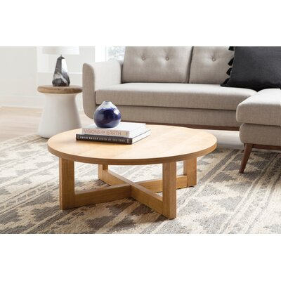 Regan Coffee Table Color: Medium Oak