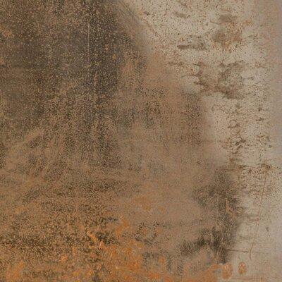 Aegean Magma 18 x 18 Porcelain Field Tile in Copper
